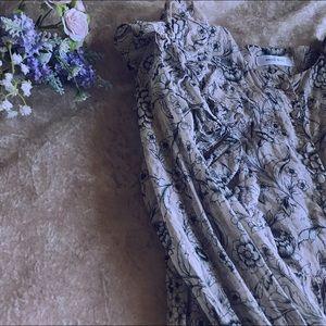 Anine Bing Floral Longsleeve Dress✨